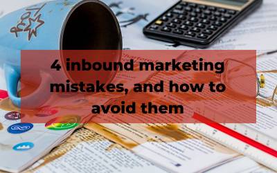 Inbound marketing mistakes