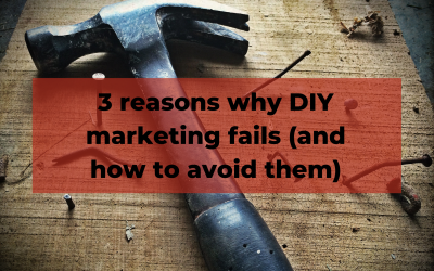Reasons why DIY marketing fails