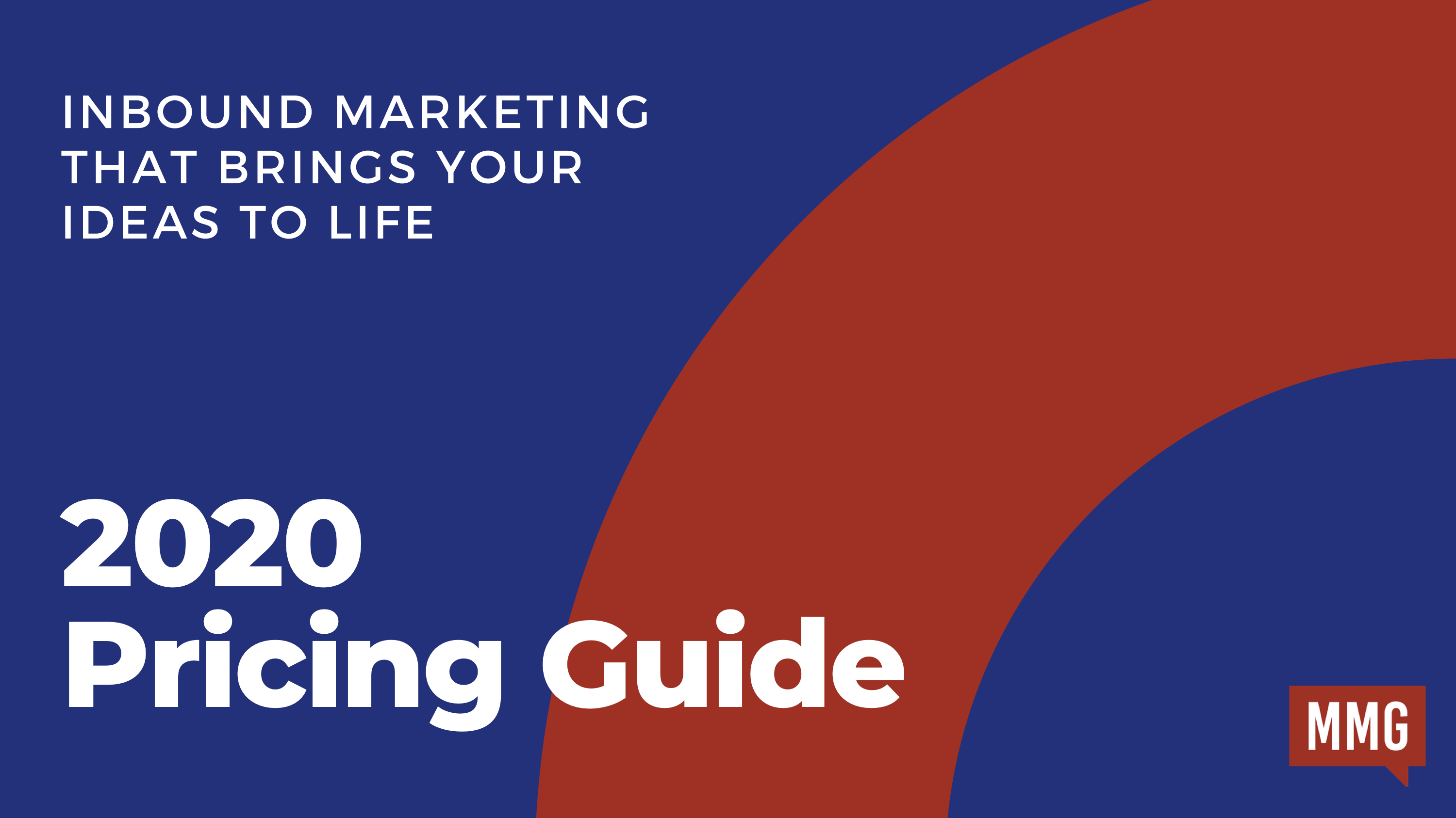 Inbound marketing pricing guide
