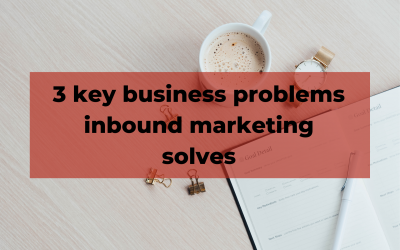 Problems inbound marketing solves