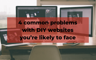 Problems with DIY websites